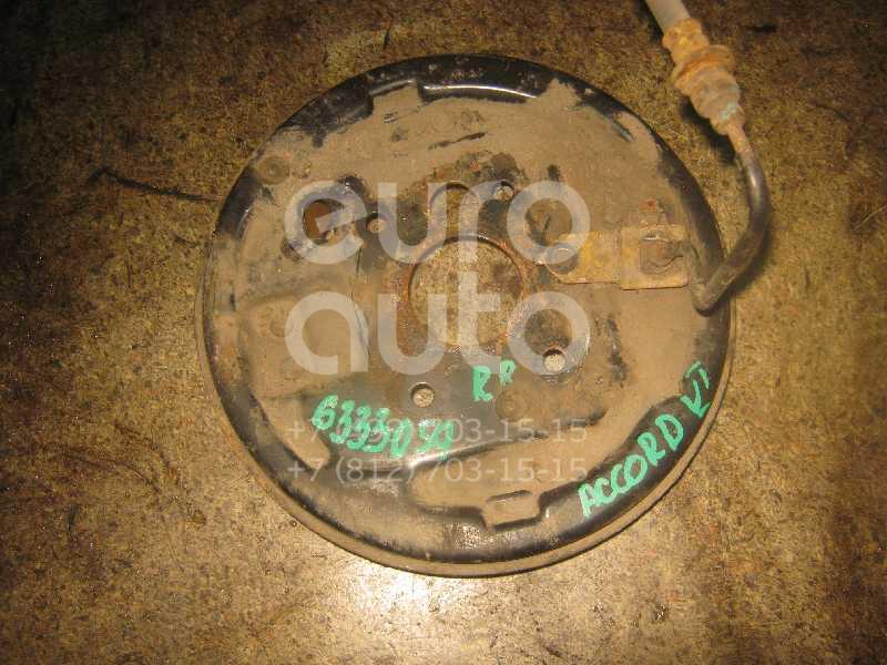 Щит опорный задний правый для Honda Accord VI 1998-2002 - Фото №1