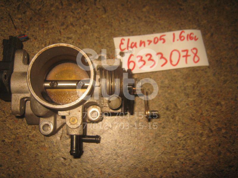 Заслонка дроссельная механическая для Hyundai Elantra 2000-2005 - Фото №1