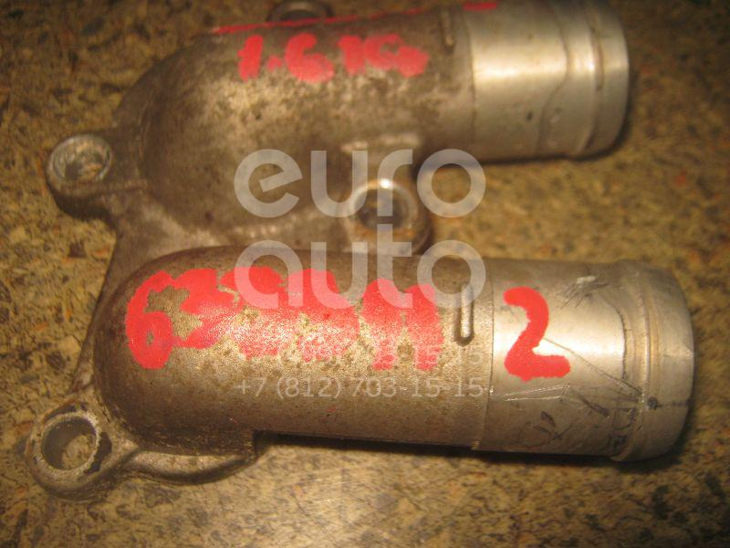 Фланец двигателя системы охлаждения для Hyundai,Kia Elantra 2000-2005;Getz 2002-2010;Coupe (RD) 1996-2002;Matrix 2001-2010;Coupe (GK) 2002-2009;Cerato 2004-2008;RIO 2005-2011;Accent II (+ТАГАЗ) 2000-2012;Verna/Accent III 2006-2010 - Фото №1