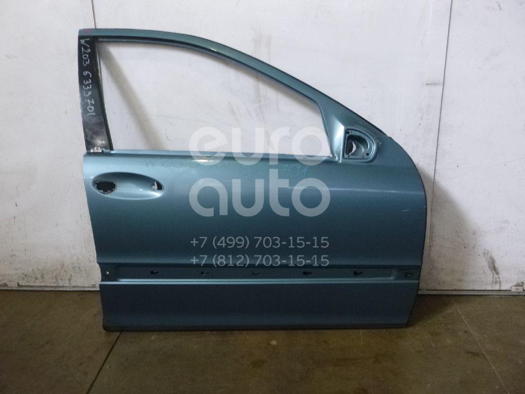 Дверь передняя правая для Mercedes Benz W203 2000-2006 - Фото №1