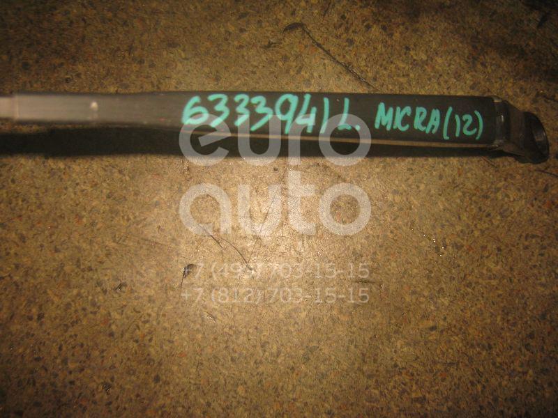 Поводок стеклоочистителя передний левый для Nissan Micra (K12E) 2002-2010 - Фото №1