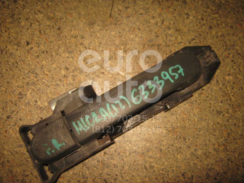 Ручка двери передней наружная правая для Nissan Micra (K12E) 2002-2010 - Фото №1
