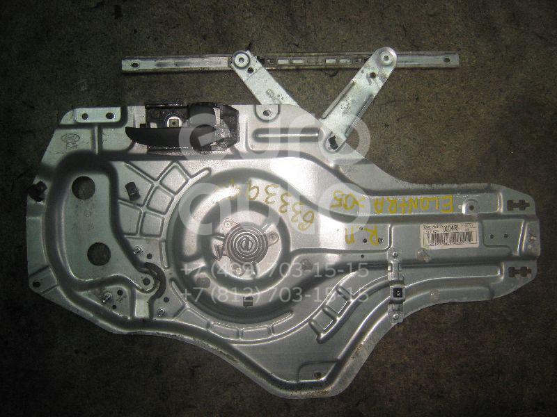 Стеклоподъемник электр. передний правый для Hyundai Elantra 2000-2006 - Фото №1