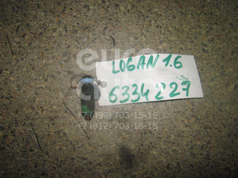 Форсунка инжекторная электрическая для Renault Logan 2005-2014 - Фото №1