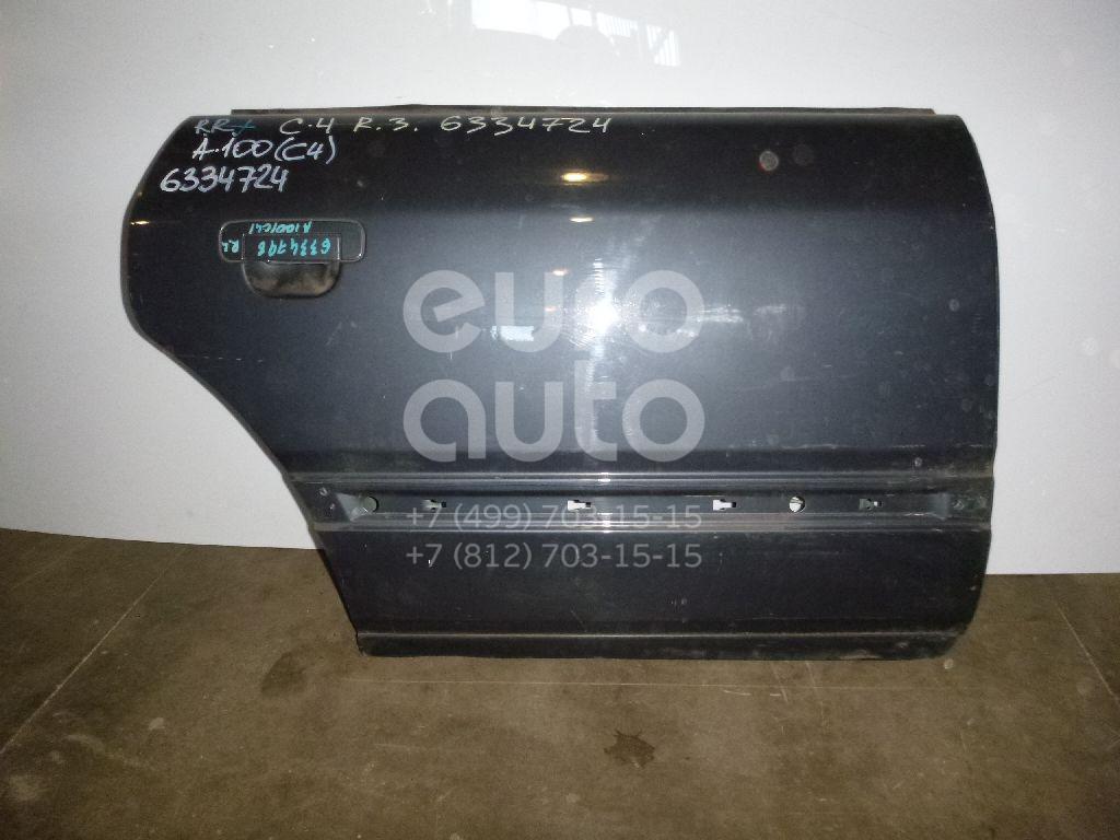 Дверь задняя правая для Audi 100 [C4] 1991-1994 - Фото №1