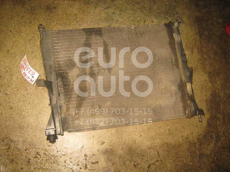 Радиатор основной для Nissan Micra (K12E) 2002> - Фото №1