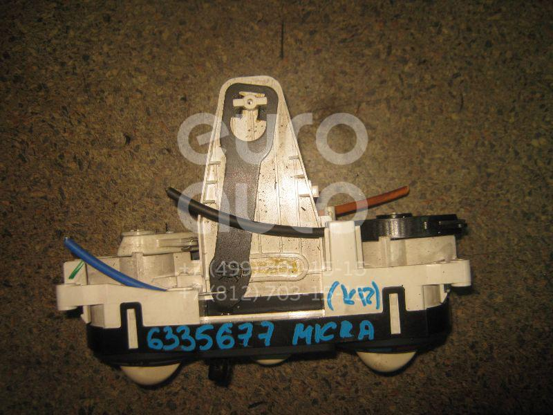 Блок управления отопителем для Nissan Micra (K12E) 2002-2010 - Фото №1