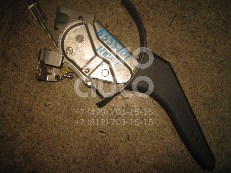 Рычаг стояночного тормоза для Nissan Micra (K12E) 2002-2010;Note (E11) 2006-2013 - Фото №1