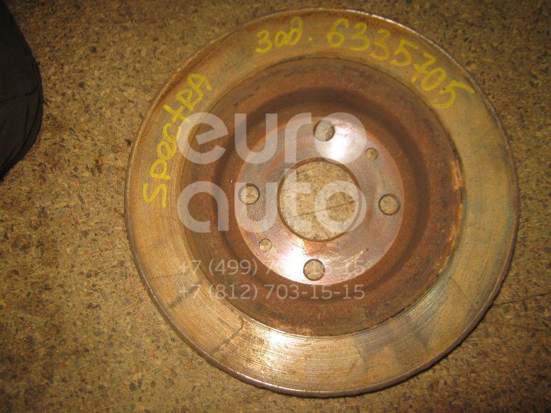 Диск тормозной задний для Kia Spectra 2001-2011;Sephia/Shuma 1996-2001;Sephia II/Shuma II 2001-2004 - Фото №1