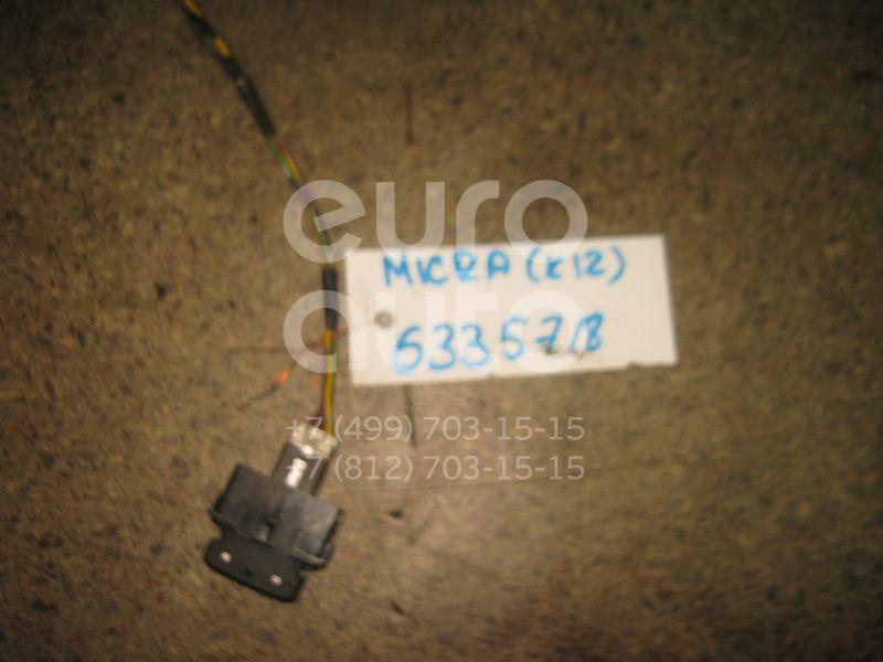 Кнопка центрального замка для Nissan Micra (K12E) 2002-2010;Note (E11) 2006-2013;Tiida (C11) 2007-2014;NV200 (M20) 2009> - Фото №1