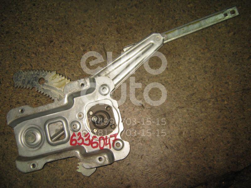 Стеклоподъемник механ. задний правый для Nissan Micra (K12E) 2002-2010 - Фото №1