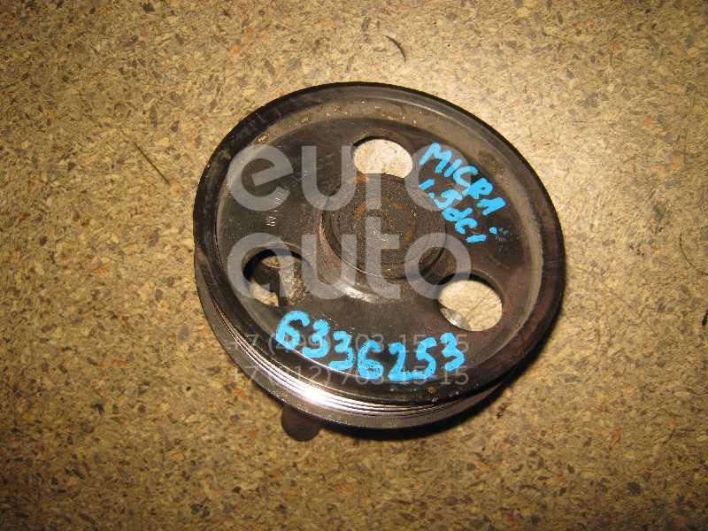 Ролик дополнительный руч. ремня для Nissan Micra (K12E) 2002-2010 - Фото №1