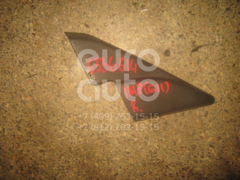 Крышка зеркала внутренняя правая для Subaru Impreza (G11) 2000-2007 - Фото №1