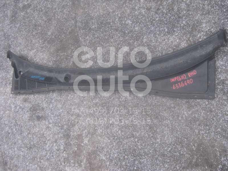 Решетка стеклооч. (планка под лобовое стекло) для Subaru Impreza (G11) 2000-2007 - Фото №1
