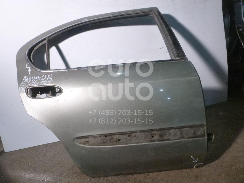 Дверь задняя правая для Nissan Maxima (CA33) 2000-2006 - Фото №1