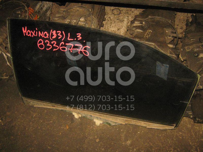 Стекло двери задней левой для Nissan Maxima (CA33) 2000-2006 - Фото №1