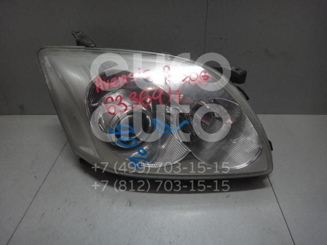 Фара правая для Toyota Avensis II 2003-2008 - Фото №1
