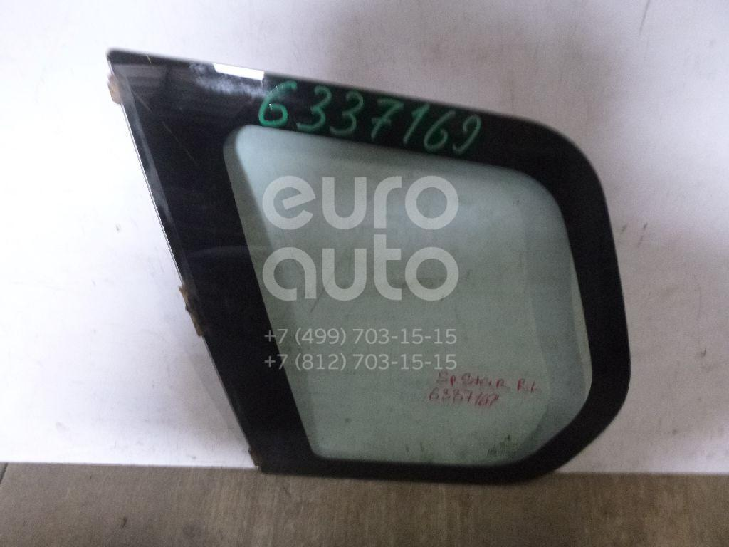 Стекло кузовное глухое левое для Mitsubishi Space Star 1998-2004 - Фото №1