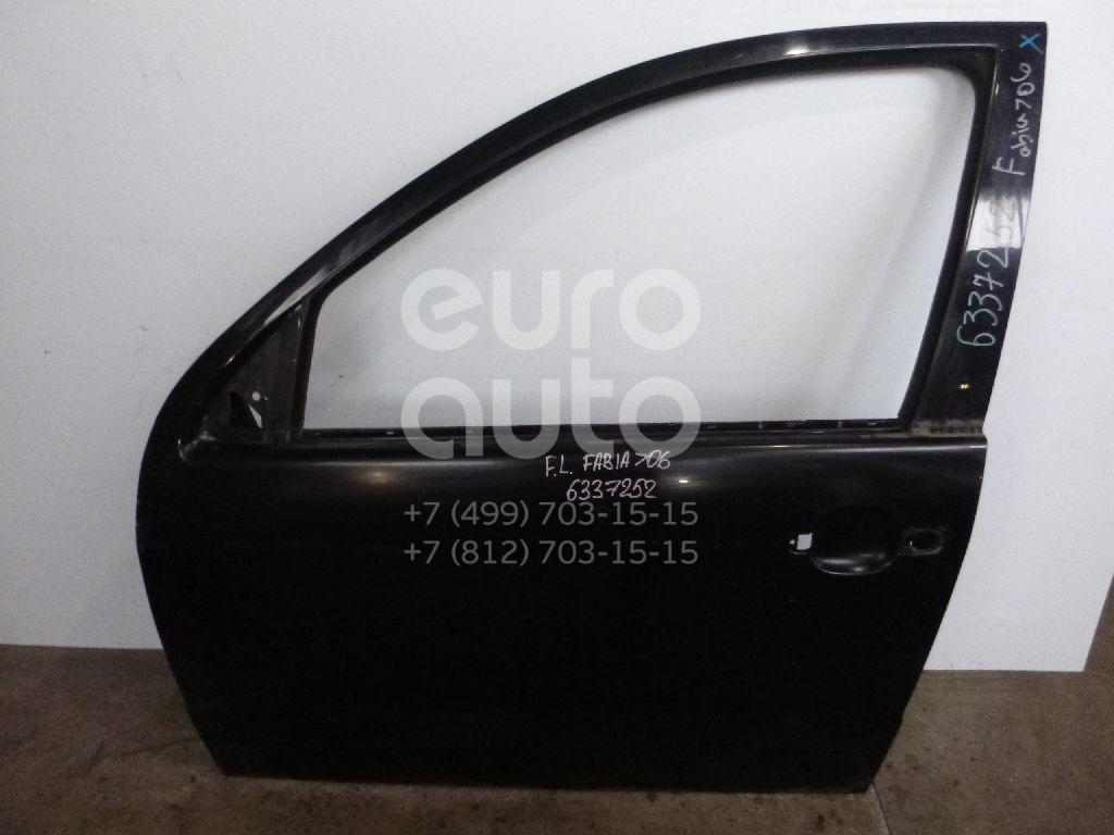 Дверь передняя левая для Skoda Fabia 1999-2006 - Фото №1