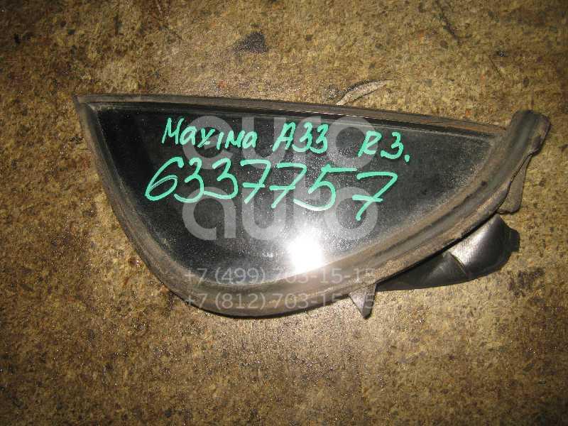 Стекло двери задней правой (форточка) для Nissan Maxima (CA33) 2000-2006 - Фото №1