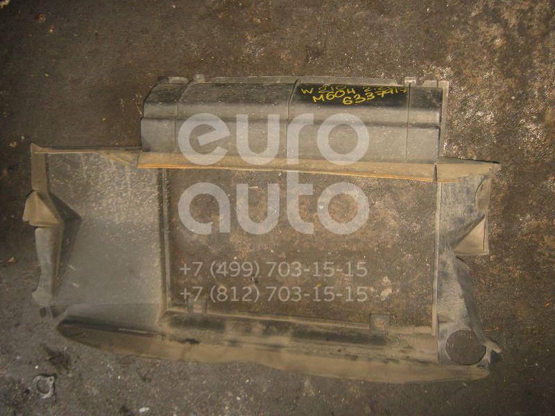 Воздухозаборник (наружный) для Mercedes Benz W210 E-Klasse 1995-2000 - Фото №1