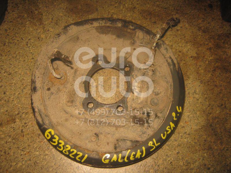 Щит опорный задний левый для Mitsubishi Galant (EA) 1997-2003 - Фото №1
