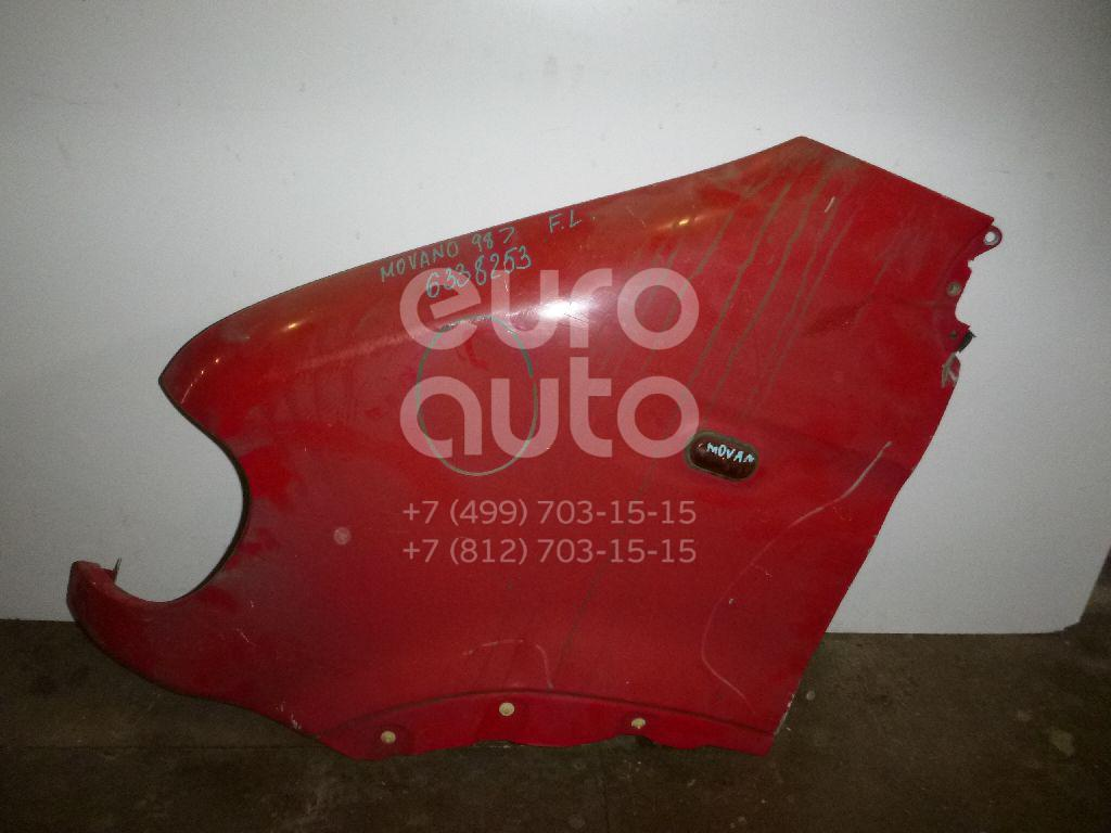 Крыло переднее левое для Renault Movano 1998>;Master II 2000-2010 - Фото №1