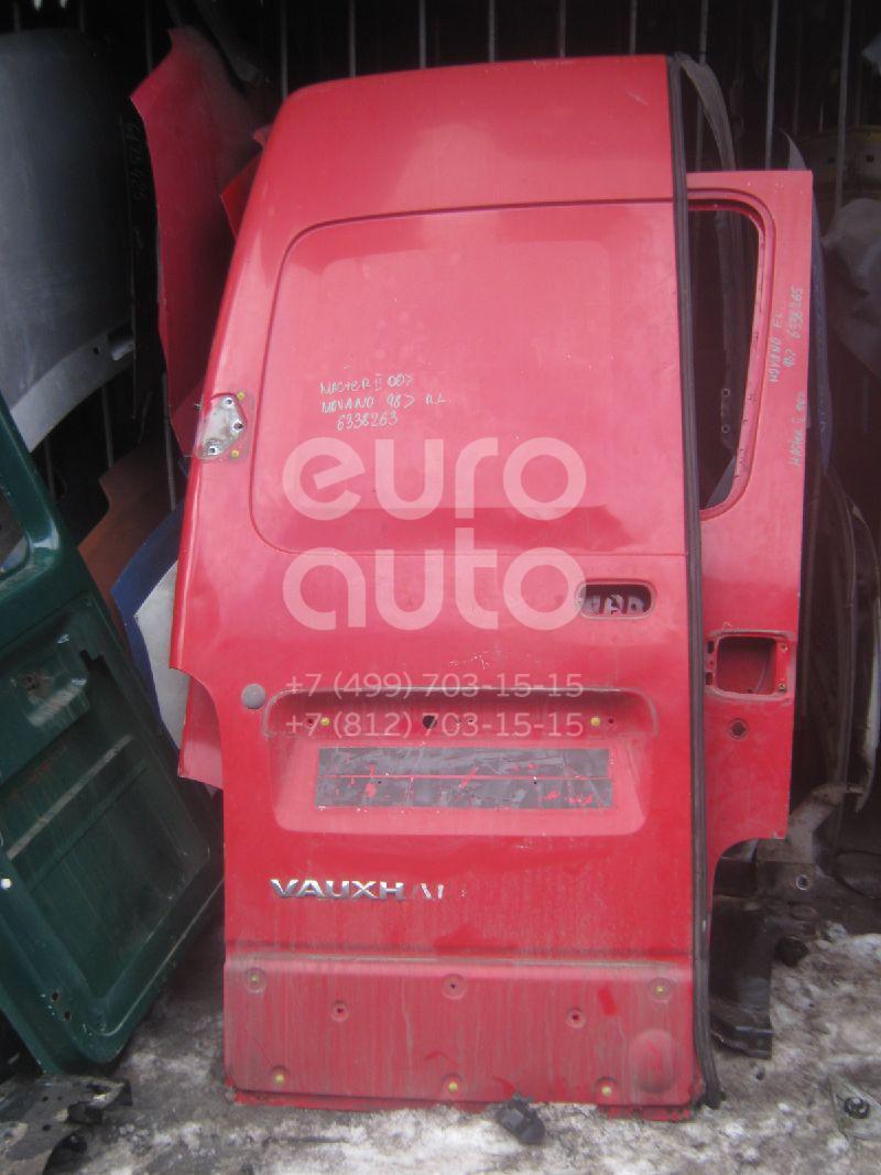 Дверь задняя левая для Renault Movano 1998>;Master II 2000-2010 - Фото №1