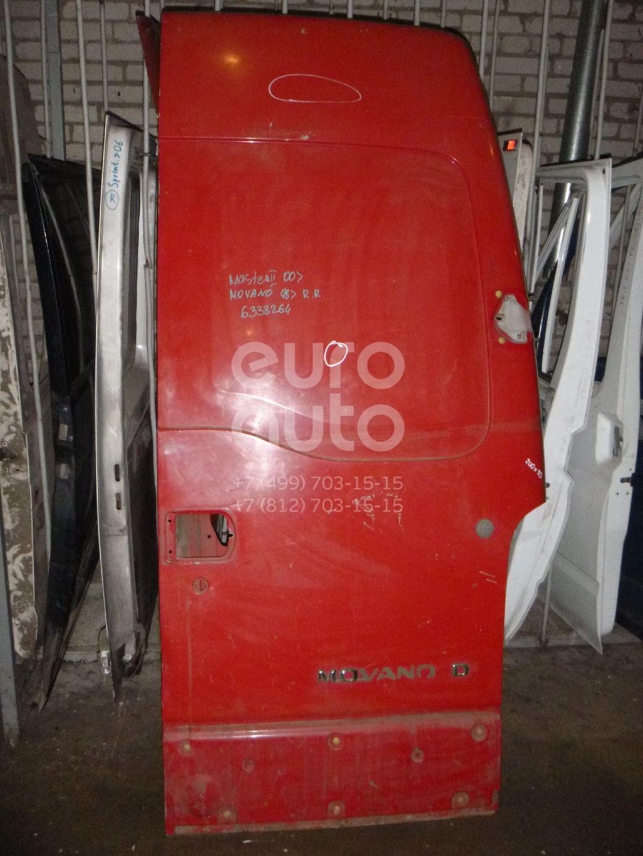 Дверь задняя правая для Renault Movano 1998>;Master II 2000-2010 - Фото №1