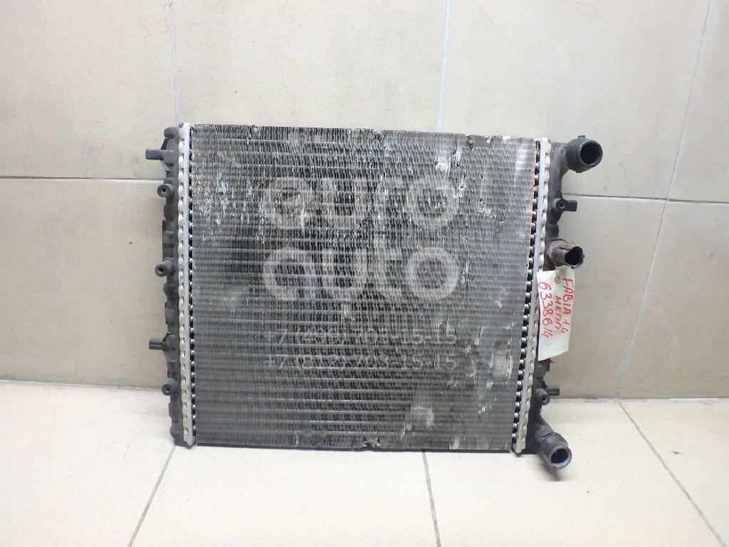 Радиатор основной для Skoda Fabia 1999-2007 - Фото №1