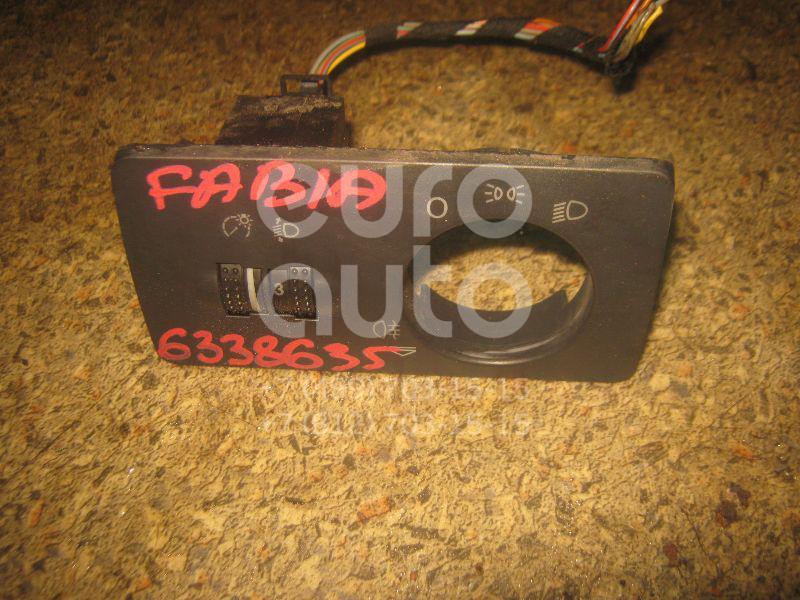 Кнопка корректора фар для Skoda Fabia 1999-2006 - Фото №1