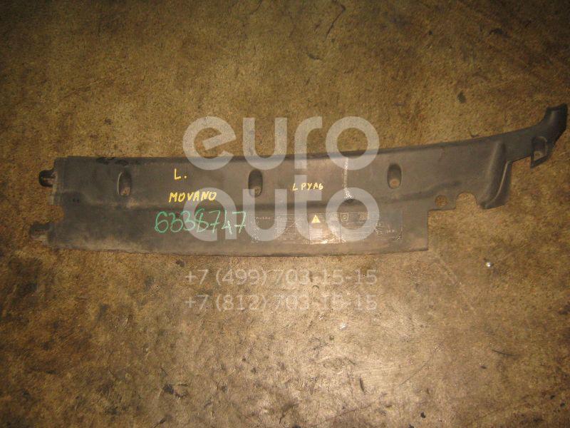 Решетка стеклооч. (планка под лобовое стекло) для Opel,Renault Movano 1998>;Master II 1999-2010 - Фото №1