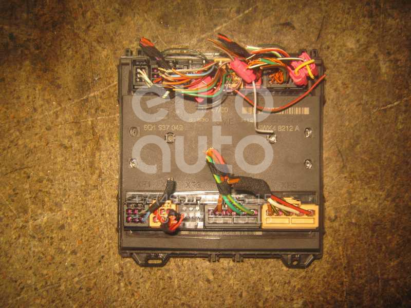 Блок электронный для Skoda,VW,Seat Fabia 1999-2006;Polo 2001-2009;Ibiza IV 2002-2008 - Фото №1