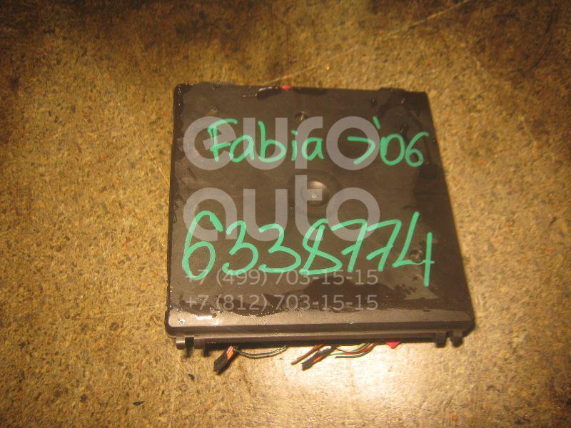 Блок электронный для Skoda,VW,Seat Fabia 1999-2007;Polo 2001-2009;Ibiza IV 2002-2008 - Фото №1