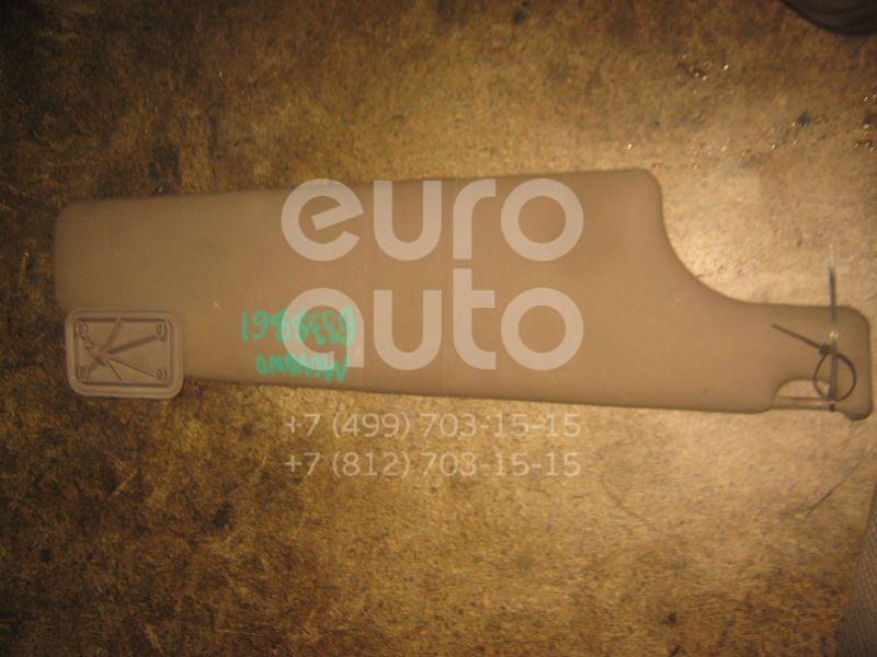 Козырек солнцезащитный (внутри) для Opel,Renault Movano 1998>;Master II 1999-2010 - Фото №1