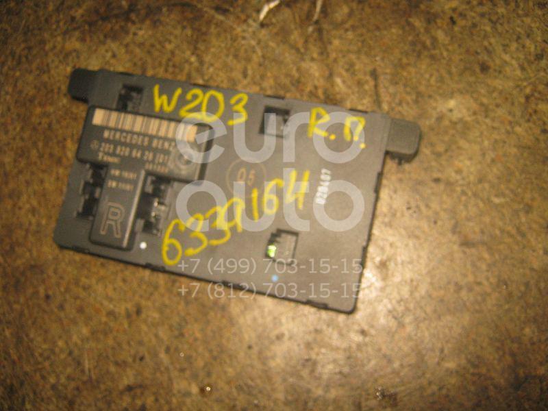 Блок комфорта для Mercedes Benz W203 2000-2006 - Фото №1