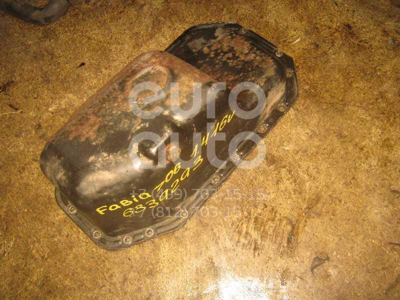 Поддон масляный двигателя для Skoda Fabia 1999-2006;Octavia (A4 1U-) 2000-2011;Octavia 1997-2000 - Фото №1