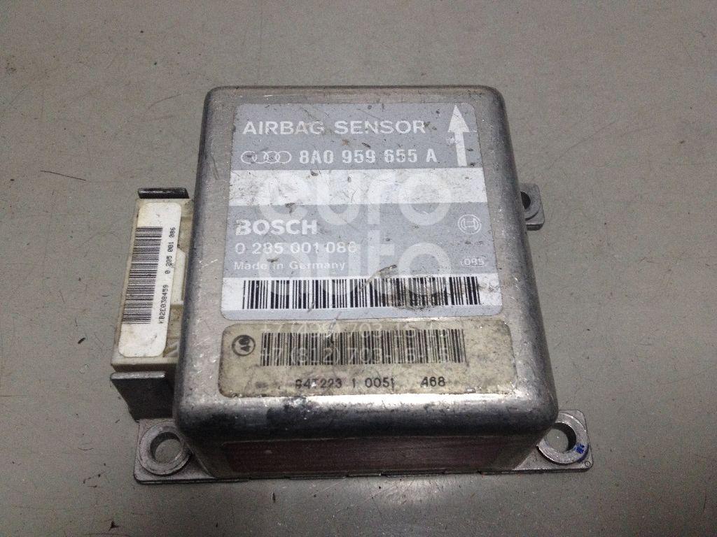 Блок управления AIR BAG для Audi A6 [C4] 1994-1997;A4 [B5] 1994-2000;80/90 [B4] 1991-1994 - Фото №1