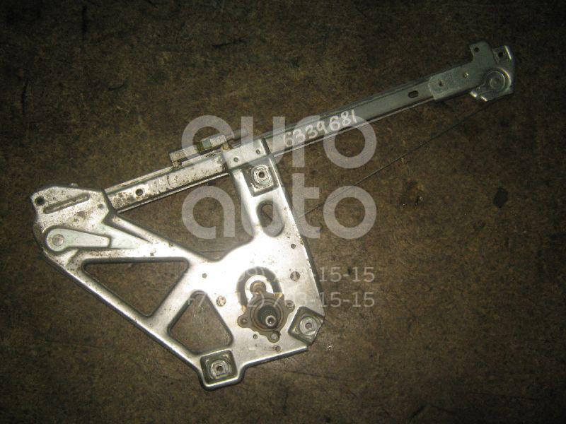 Стеклоподъемник механ. задний левый для Audi A6 [C4] 1994-1997;100 [C4] 1991-1994 - Фото №1