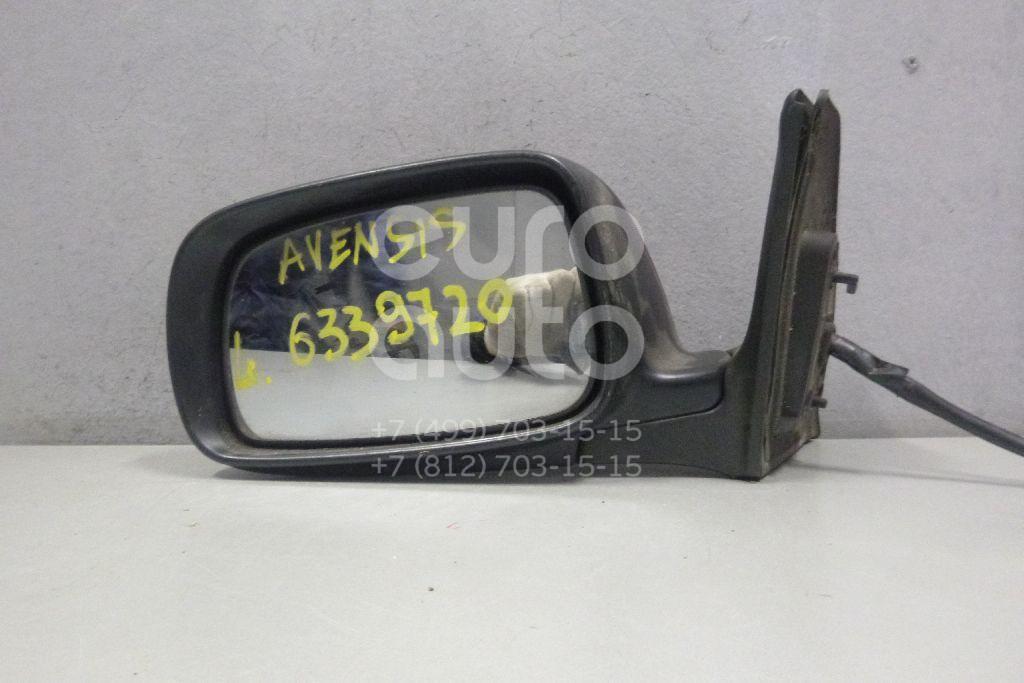 Зеркало левое электрическое для Toyota Avensis II 2003-2008 - Фото №1