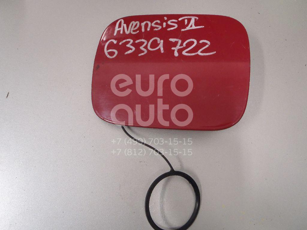 Лючок бензобака для Toyota Avensis II 2003-2008 - Фото №1