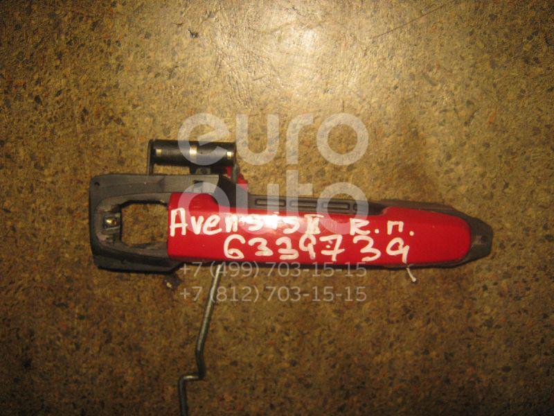 Кронштейн ручки для Toyota Avensis II 2003-2008 - Фото №1