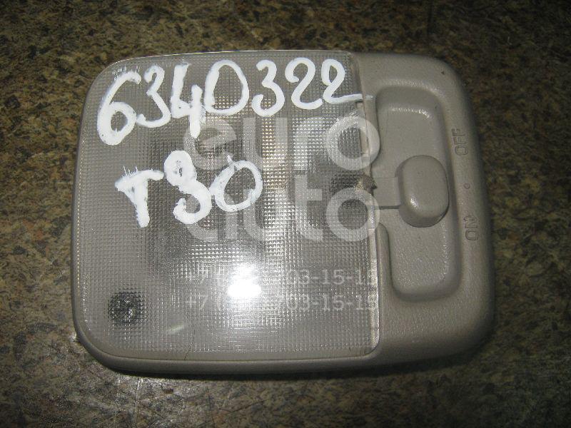 Плафон салонный для Nissan X-Trail (T30) 2001-2006;Almera N15 1995-2000;Patrol (Y61) 1997-2009;Almera N16 2000-2006;NV200 (M20) 2009> - Фото №1