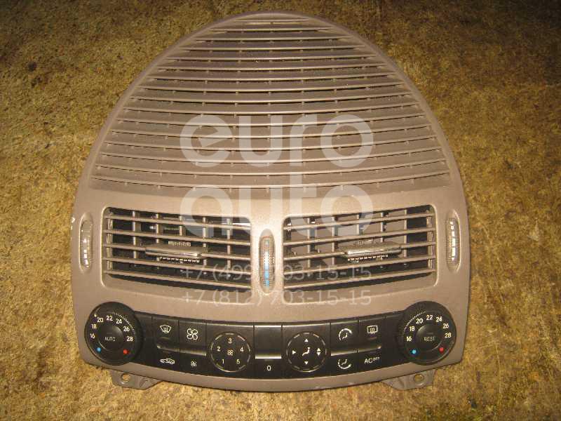 Блок управления климатической установкой для Mercedes Benz W211 E-Klasse 2002-2009 - Фото №1