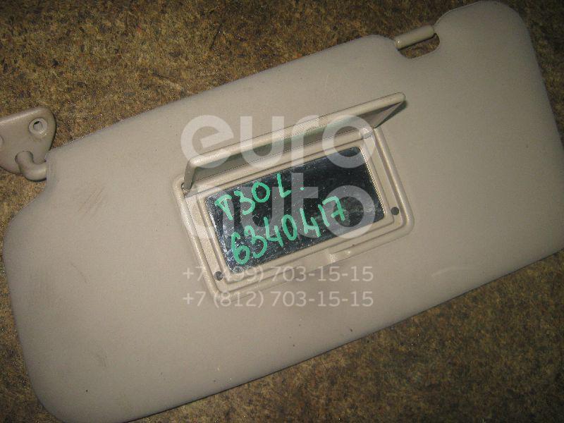 Козырек солнцезащитный (внутри) для Nissan X-Trail (T30) 2001-2006 - Фото №1