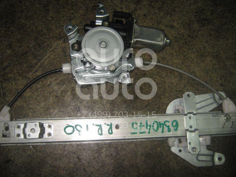 Стеклоподъемник электр. задний правый для Nissan X-Trail (T30) 2001-2006 - Фото №1