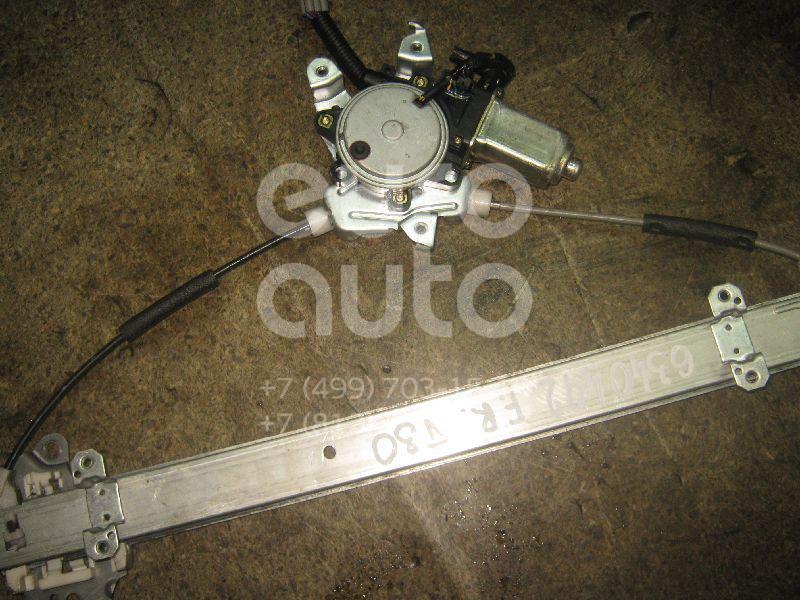Стеклоподъемник электр. передний правый для Nissan X-Trail (T30) 2001-2006 - Фото №1