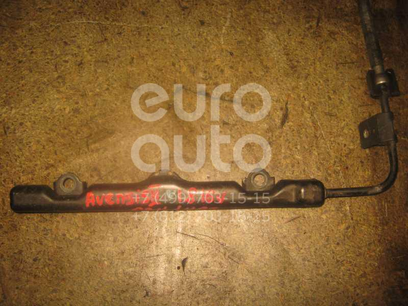 Рейка топливная (рампа) для Toyota Avensis II 2003-2008;Avensis I 1997-2003;CorollaVerso 2001-2004;Corolla E11 1997-2001;Celica (ZT23#) 1999-2005;RAV 4 2000-2005;Corolla E12 2001-2007;Auris (E15) 2006-2012;Corolla E15 2006-2013 - Фото №1