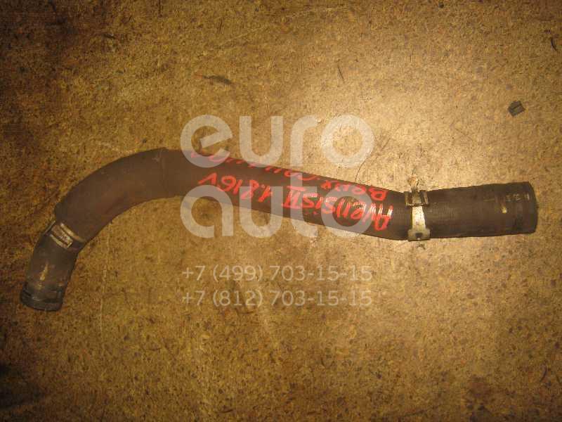 Патрубок радиатора для Toyota Avensis II 2003-2008 - Фото №1