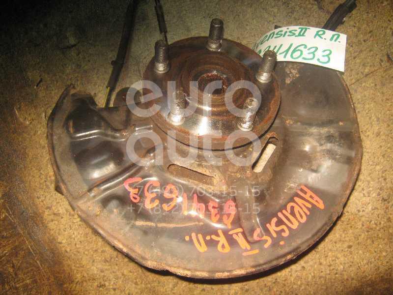 Кулак поворотный передний левый для Toyota Avensis II 2003-2008 - Фото №1